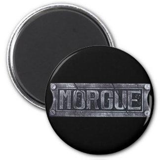 Morgue 2 Inch Round Magnet