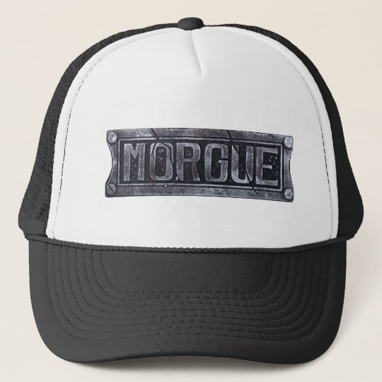 Morgue Trucker Hat