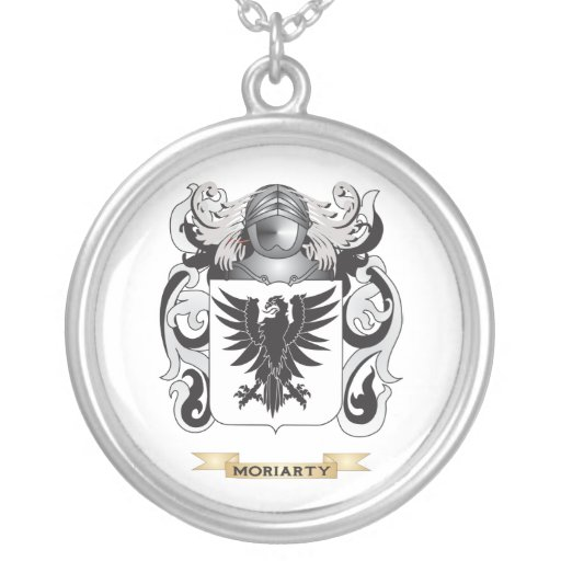 moriarty coat of arms family crest pendant