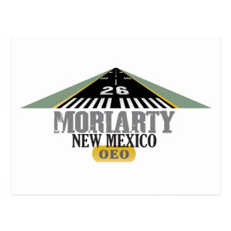 Moriarty New Mexico - Airport Runway Postcard