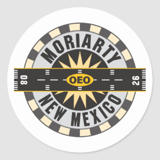 Moriarty OEO Classic Round Sticker