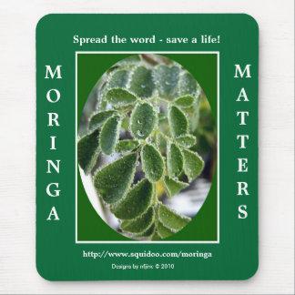 Moringa does matter! mouse pad