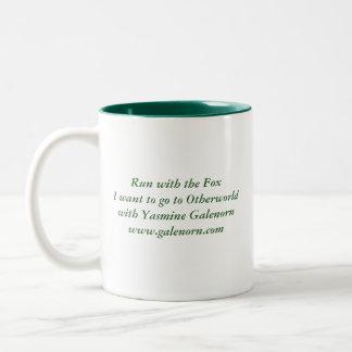 Morio: Run with the Fox Two-Tone Coffee Mug