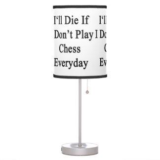 Moriré si no juego al ajedrez diario