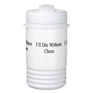 Moriré sin ajedrez refrigerador de bebida igloo