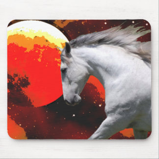 MORISCO IN FIERY SPACE MOUSE PAD