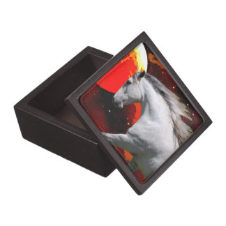 MORISCO IN FIERY SPACE Trinket Box