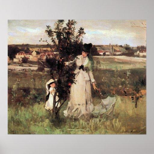 Morisot-Piel-y-búsqueda de Berthe Impresiones