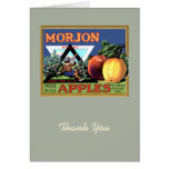 Morjon Apples Card