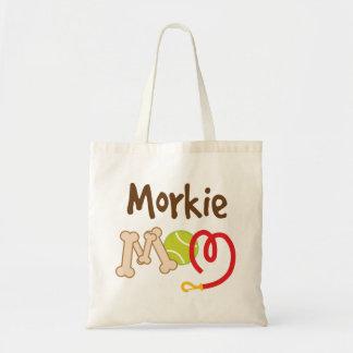 Morkie Dog Breed Mom Gift Budget Tote Bag