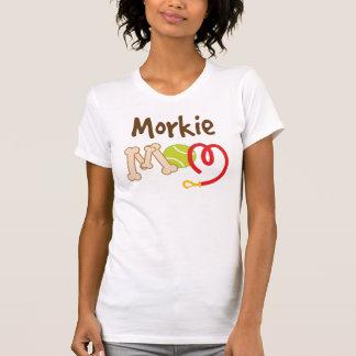 Morkie Dog Breed Mom Gift Tee Shirt
