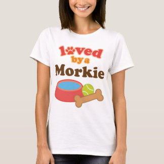 Morkie Dog Owner Gift T-Shirt
