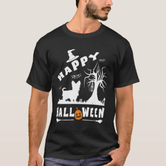 MORKIE Happy Halloween Dog Lovers Gift T-Shirt