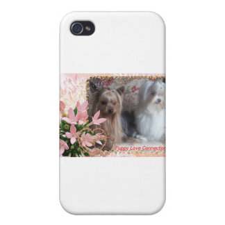 Morkie Parents iPhone 4 Cover