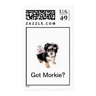 Morkie Postage