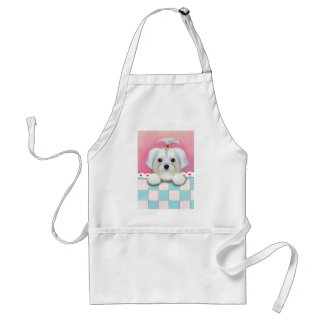 MORKIE SHELLY ADULT APRON
