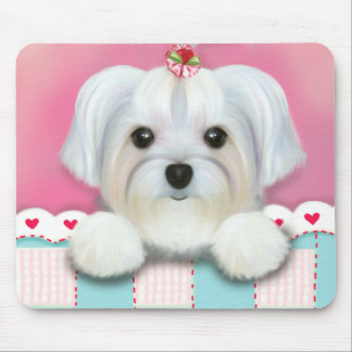 MORKIE SHELLY MOUSE PAD