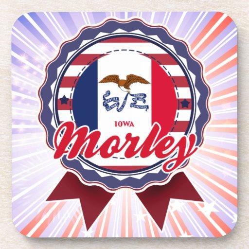 Morley, IA Posavasos De Bebidas