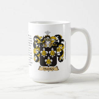 Morley, the Origin, the Meaning and the Crest Mug