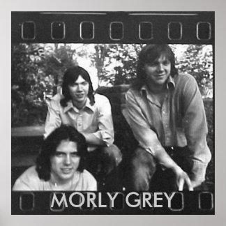 Morly Grey (Poster) Poster