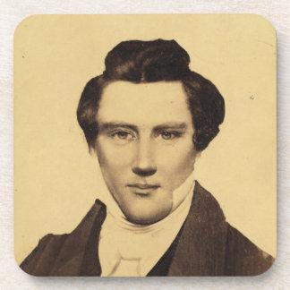 Morman Joseph Smith Jr. Portrait C.W. Carson 1879 Beverage Coasters