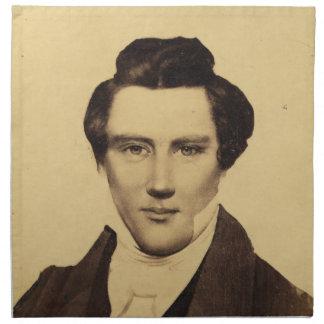 Morman Joseph Smith Jr. Portrait C.W. Carson 1879 Napkin