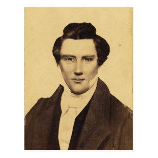 Morman Joseph Smith Jr. Portrait C.W. Carson 1879 Postcard