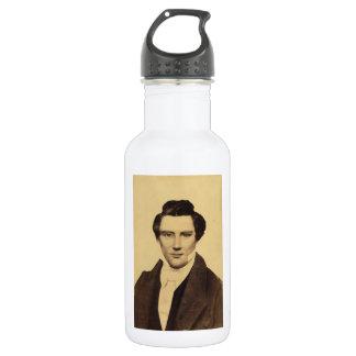 Morman Joseph Smith Jr. Portrait C.W. Carson 1879 Stainless Steel Water Bottle