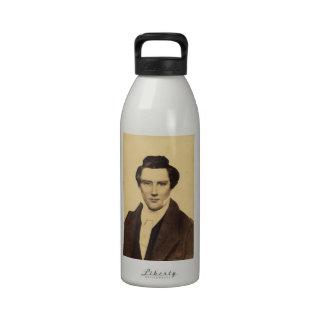 Morman Joseph Smith Jr. Portrait C.W. Carson 1879 Reusable Water Bottles