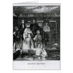 Mormon Baptism Card