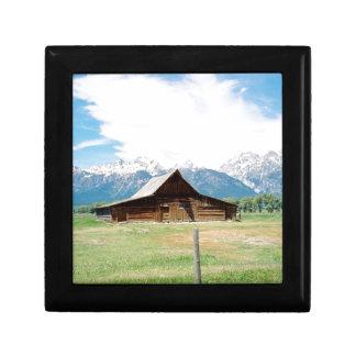 Mormon Barn Keepsake Box