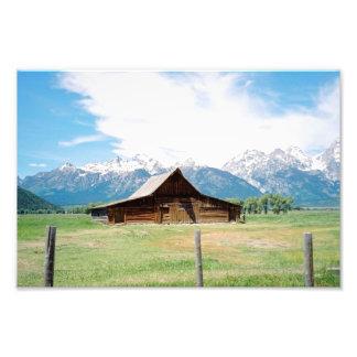 Mormon Barn Photo Print