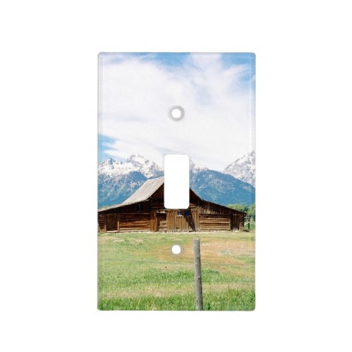 Barn Light Covers: Mormon Barn Switch Plate Covers