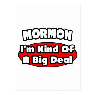 Mormon...Big Deal Postcard