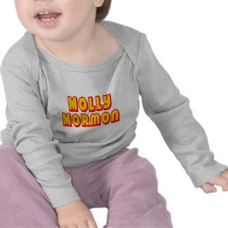 Mormón de Molly Camisetas