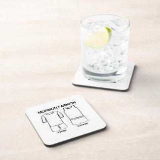 MORMON FASHION.png Beverage Coaster