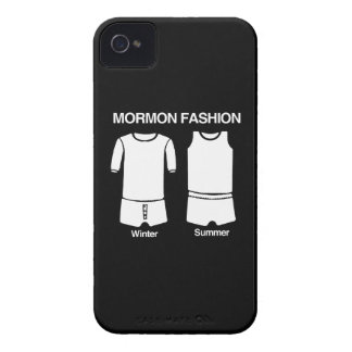 MORMÓN FASHION.png iPhone 4 Case-Mate Fundas
