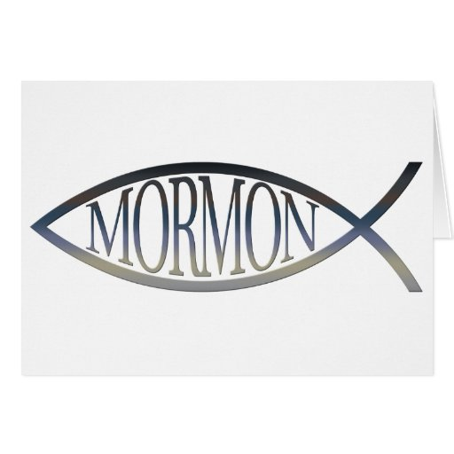 Mormon Fish Greeting Cards
