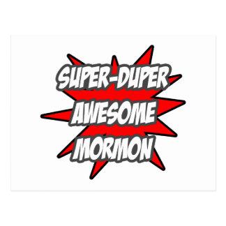 Mormón impresionante estupendo de Duper Postales