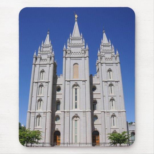 Mormon (LDS) Temple  in Salt Lake City, Utah Mouse Pad