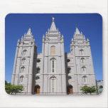Mormon (LDS) Temple  in Salt Lake City, Utah Mousepads