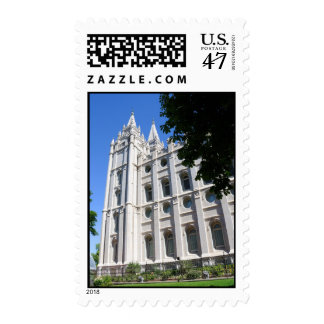 Mormon (LDS) Temple  in Salt Lake City, Utah Postage