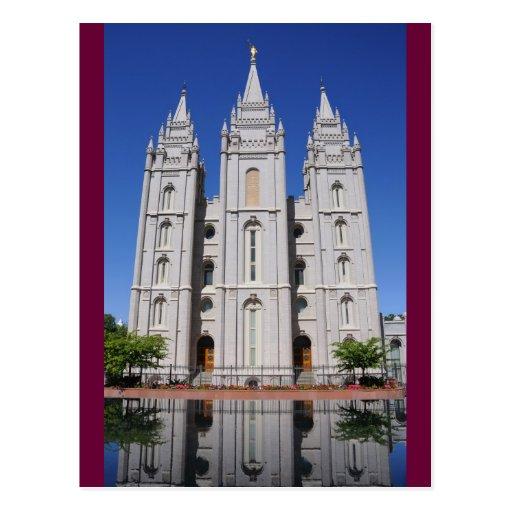 Mormon (LDS) Temple  in Salt Lake City, Utah Post Cards