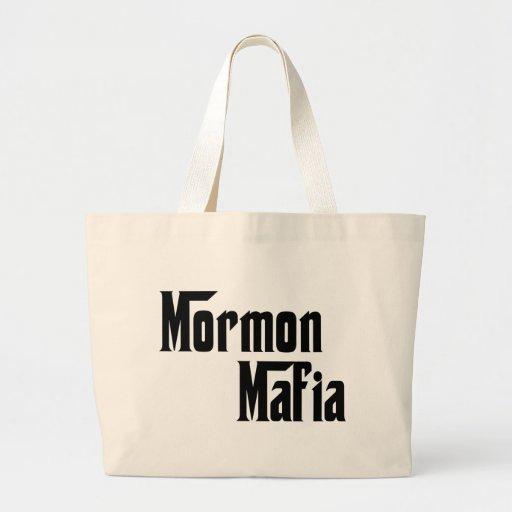 Mormon Mafia Tote Bags