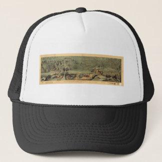 Mormon Pioneers Map Nauvoo to Great Salt Lake 1846 Trucker Hat