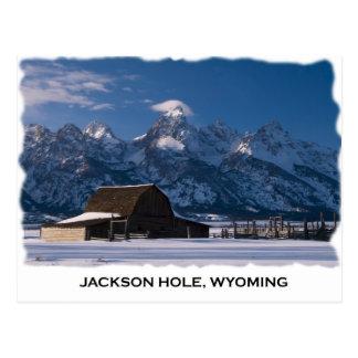Mormon Row and the Tetons Postcards