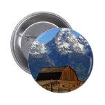 Mormon Row Barn Grand Teton National Park Pinback Buttons