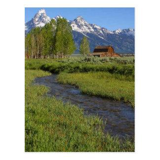 Mormon Row Barn Post Card