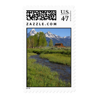Mormon Row Barn stamp