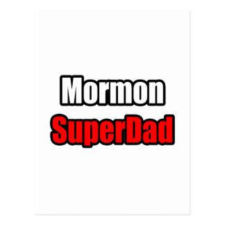 Mormon SuperDad Postcard